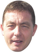 Billy Davies  Sports Celebrity Face Mask