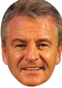 Charlie Nicholas  Sports Celebrity Face Mask