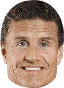 David Coulthard  Sports Celebrity Face Mask