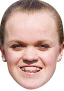 Ellie Simmonds (2)  Sports Celebrity Face Mask