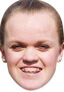 Ellie Simmonds (2)  - SPORTS Celebrity Face Mask