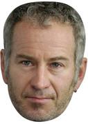 John Mcenroe  Sports Celebrity Face Mask