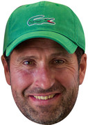 Jose Olathabal Green Hat  - SPORTS Celebrity Face Mask