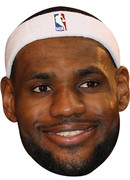 Lebron James  Sports Celebrity Face Mask