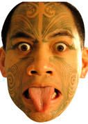 Maori  Sports Celebrity Face Mask