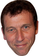 Michael Atherton  Sports Celebrity Face Mask
