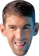 Michael Phelps 2017  Sports Celebrity Face Mask