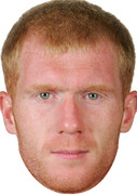 Paul Scholes  Sports Celebrity Face Mask