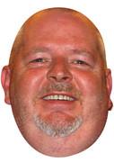 Robert Thornton Darts  Sports Celebrity Face Mask