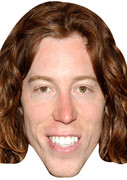 Shaun White2 2017  Sports Celebrity Face Mask