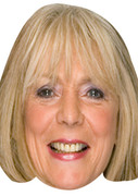 Alison Steadman 2017  Tv Celebrity Face Mask