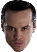 Andrew Scott Aka Moriarty In Bbc Sherlock  Tv Celebrity Face Mask