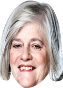 Ann Widecombe Strictly  Tv Celebrity Face Mask
