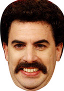 Borat 2  Tv Celebrity Face Mask