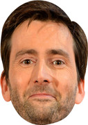 David Tennant MH 2017  Tv Celebrity Face Mask