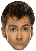 Doctor Who David Tennant  Tv Celebrity Face Mask