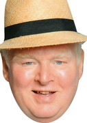 Donald Stewart Swinger Benidorm  Tv Celebrity Face Mask