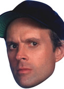 Dwight Schultz Murdock  Tv Celebrity Face Mask