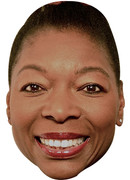 Floella Benjamin  Tv Celebrity Face Mask