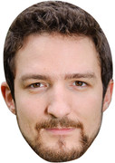 Frank Turner02  Tv Celebrity Face Mask