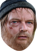 Ian Beale -tramp - TV Celebrity Face Mask