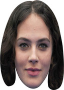 Jessica Brown Findlay  Tv Celebrity Face Mask