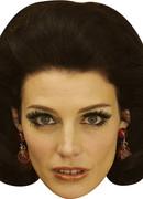 Jessica Parã© Megan Draper  Tv Celebrity Face Mask