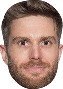 Joel Dommett Im A MH 2017  Tv Celebrity Face Mask