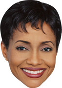 Judge Hatchett MH 2017  Tv Celebrity Face Mask