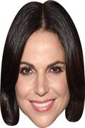 Lana Parrilla  Tv Celebrity Face Mask