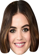 Lucy Hale (2)  Tv Celebrity Face Mask