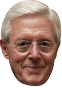 Michael Aspel - This is your Life - TV Celebrity Face Mask
