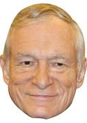 Playboy Hugh Hefner  Tv Celebrity Face Mask