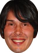 Professor Brian Cox  Tv Celebrity Face Mask
