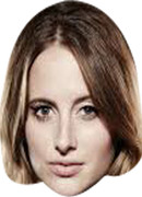 Rosie Fortescue Chelsea 2017  Tv Celebrity Face Mask