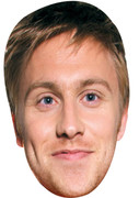 Russell Howard 2017  Tv Celebrity Face Mask