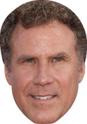Will Ferrell Celebrity Party Face Mask