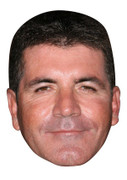 Simon Cowell X Factor Judge Face Mask