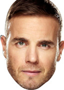 Gary Barlow - X Factor Face Mask