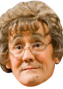 Agnes Brown  Mrs Brown Boys Face Mask