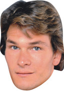 Patrick Swayze Dirty Dancing Celebrity Face Mask