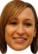 Jessica Ennis Olympic Athlete Celebrity Mask