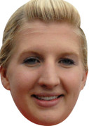 Rebecca Adlington Olympic Celebrity Mask