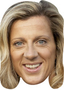 Sally Gunnell Olympic Celebrity Mask