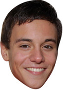 Tom Daly Olympic Celebrity Mask