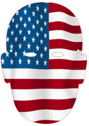 USA Face Mask Olympic Mask