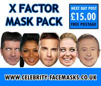 X Factor Judges Mask Pack