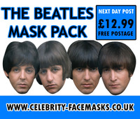 The Beatles Face Mask Pack