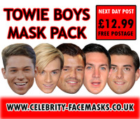 Towie Boys Face Mask Pack