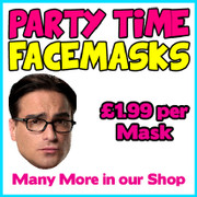 Leonard Big Bang Theory Celebrity Face Mask